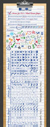Arrows and Hand Drawn Shapes and Custom Symbols by nelutuinfo