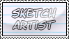 Sketch Artist - Stamp by Lelolay