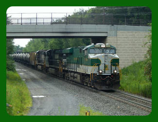 Norfolk Southern #8099 (Southern Heritage Unit) by Pikachu-Train