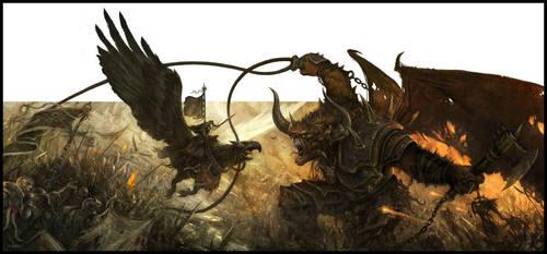 Warhammer: Invasion by daarken