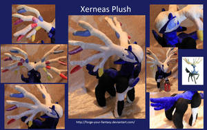 Xerneas Plush - SOLD by Forge-Your-Fantasy