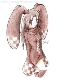 Rukia Bunny Fanart by LedZaid