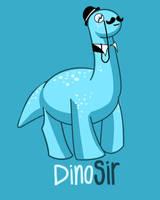 Dinosir Art by brock-art