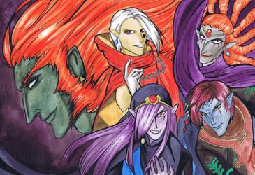 Zelda Villains by HisBelovedPrincess