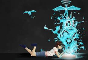 Magic of Books by Greatnini