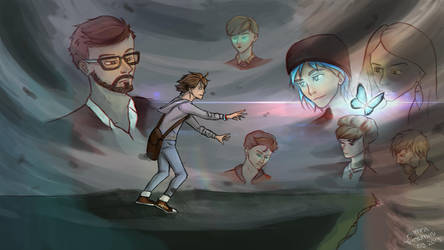 Life is strange - end of the world by Greatnini