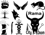 Monochrome Icon Collection by Will-Erwin