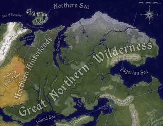 Great Northern Wilderness, Natural Geography by Will-Erwin