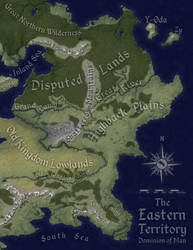 The Eastern Territory: Natural Geography by Will-Erwin