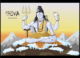 Lord Shiva by codenamezapper