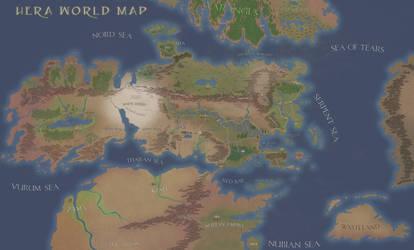 Hera map: amazon planet by julianapostata