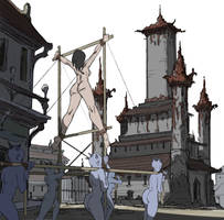 sacrificial parade by julianapostata