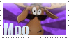 Moo stamp by Stamps-ForWhoWant