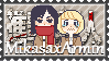 :SNK stamp: Mikasa x Armin shipper by Stamps-ForWhoWant