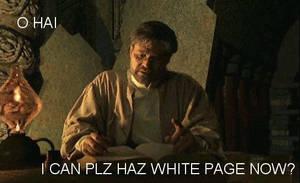 Atrus can Haz White Page? by MystressOfDarkness13