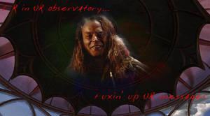 He's in UR Hologram... by MystressOfDarkness13