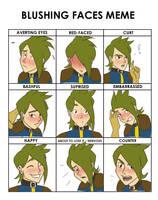 Blushing Meme Vireo by SagaFace