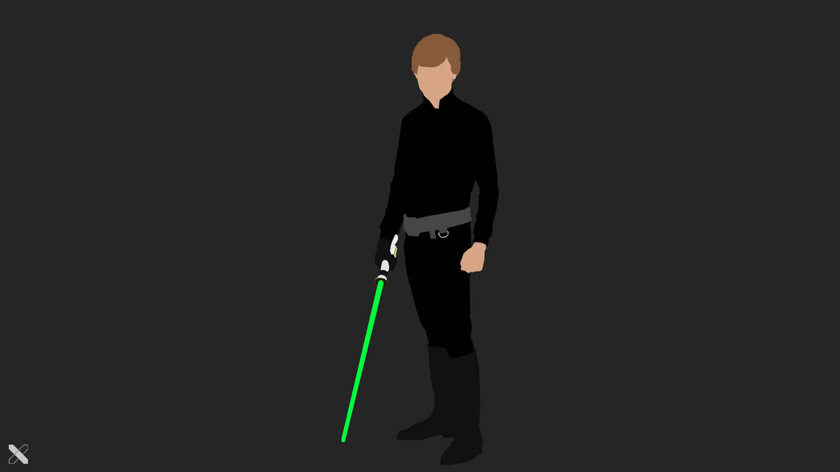 Luke Skywalker Star Wars Vector Wallpaper By Zephyr200106 On