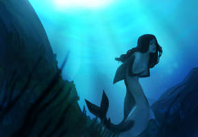 the sea monster by Jensonator