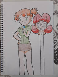 Misty to DJ Mary Disguise. by StuAnimeArt