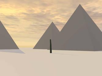 Great Pyramids - 1 by llama