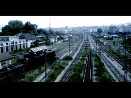 Railway station by Mrkela92