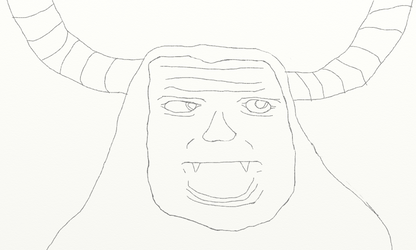 Tirek portrait (sketch) by benzombie1