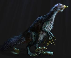 Therizinosaurus 9 by Johnson-Mortimer