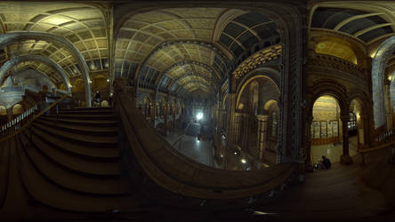 National History Museum Panorama A by Johnson-Mortimer