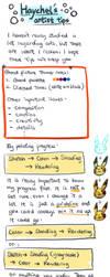 HL's Artist Tips: Lineart by Haychel