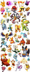 Pokesketch Compilation by Haychel