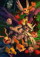 Digimon World by Haychel