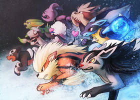 Pokedogges by Haychel