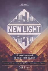 New Light Flyer by nidzoart