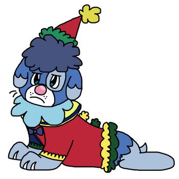 Sad Clown by TheTomboyWithTheHats