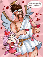 For Ashe from Draven . With LOVE by Philiera