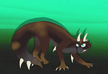Angry Creature Adopt [OPEN] by NightShadeLG