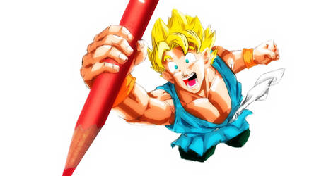 Son Goku by maikeru01