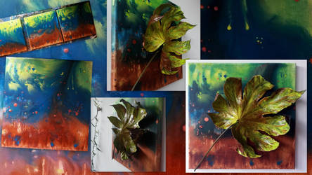 Leaf_yellow-Collage by MedeaSafir