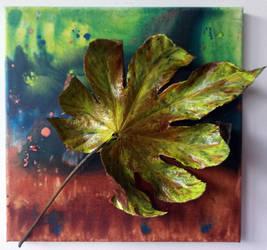 Leaf_yellow (30/30cm) by MedeaSafir