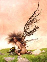 Poison - Faerie Art SCULPTURE by pixiwillow