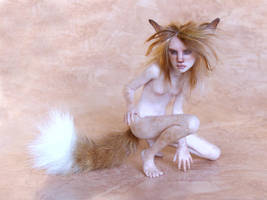 The fox girl - unfinished by pixiwillow