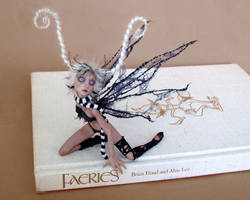 COBWEB fairy SCULPTURE by pixiwillow