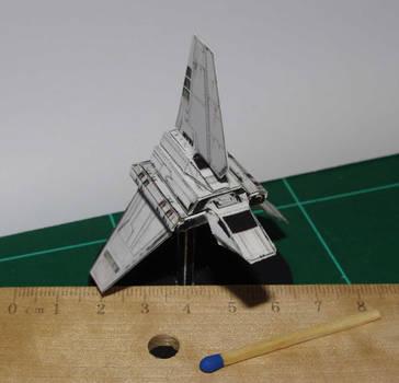 Shuttle Tydirium - Star Wars miniature by SarienSpiderDroid
