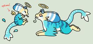 sea dragon CLOSED by bubble-catt