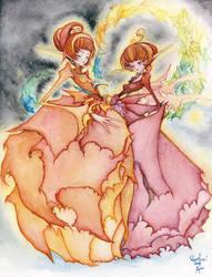 Fairies of the flower dress by RyuTakeuchi
