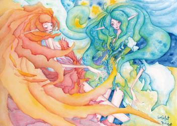 Larimar-Carnelian by RyuTakeuchi