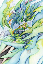 Serpent Stone -Dragon Stone Series - by RyuTakeuchi