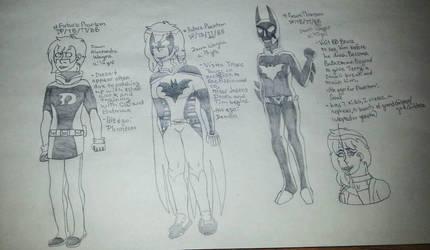 Future Phantom AU! all timelines by black-ghost-star