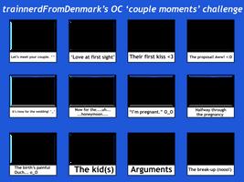 OC couple moments challenge by trainnerdFromDenmark